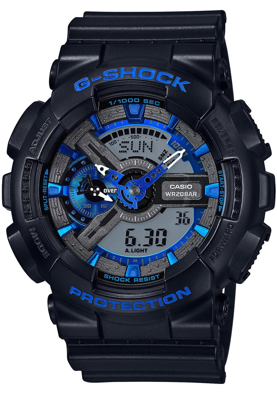 G shock ga 110cb 1a xl black blue for Watches digital