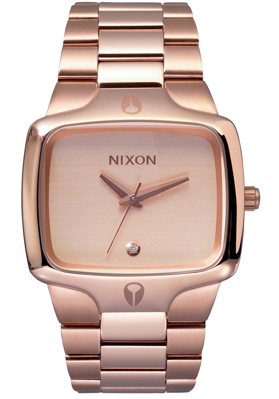 Nixon Player All Rose Gold | Watches.com