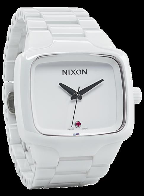 Nixon Ceramic Player Swiss Automatic White