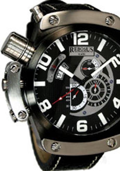 Rebosus Black Chronograph