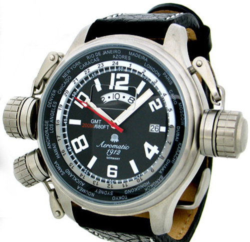 Aeromatic GMT Worldtime