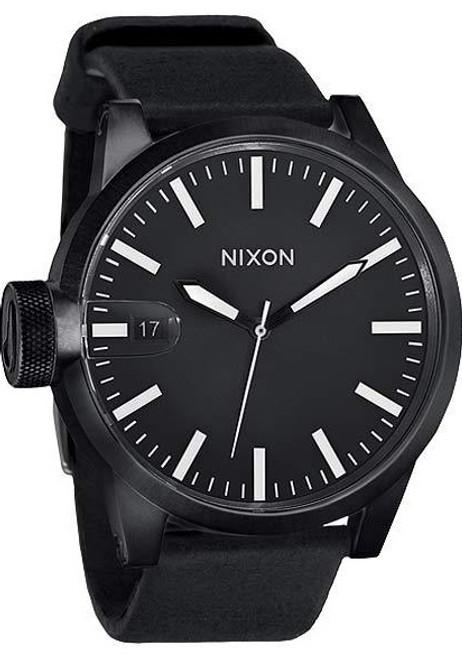 Nixon Chronicle All Black Oversize