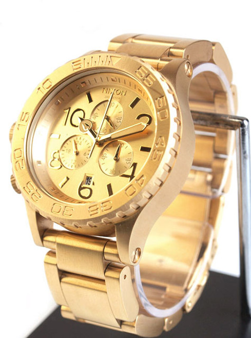 Nixon 42-20 Chrono All Gold