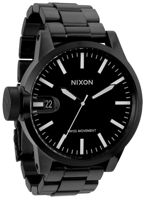 Nixon Chronicle All Black SS