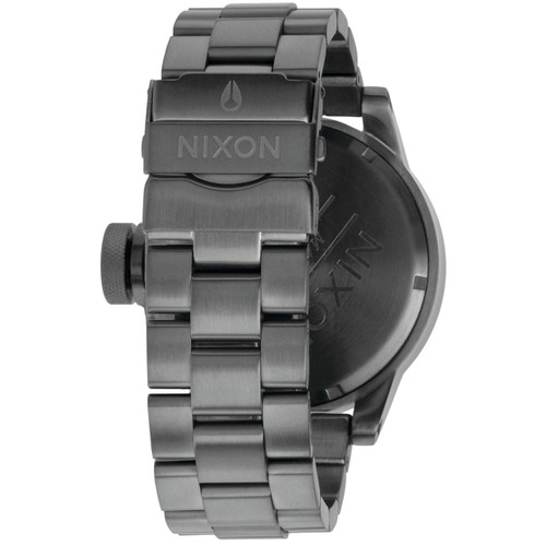 Nixon Chronicle All Gunmetal SS (A198632) back