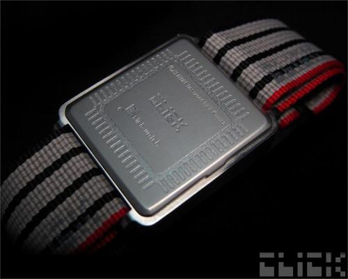 Click Turn Black/Black Ribbon