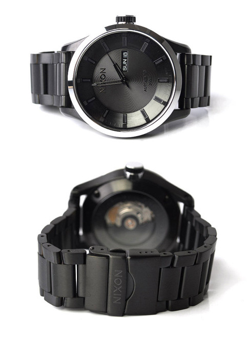 Nixon Swiss Automatic II -All Black