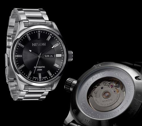 Nixon Swiss Automatic II -Black