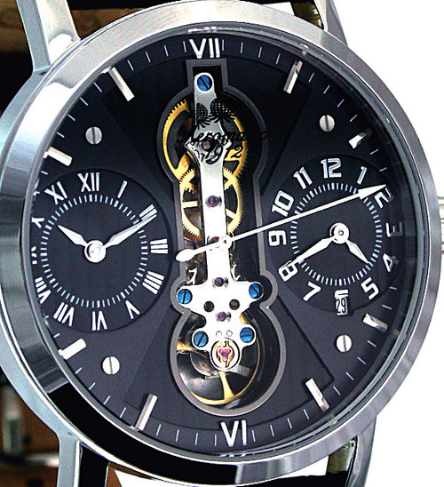 Aeromatic Dual Time Zone Skeleton Automatic