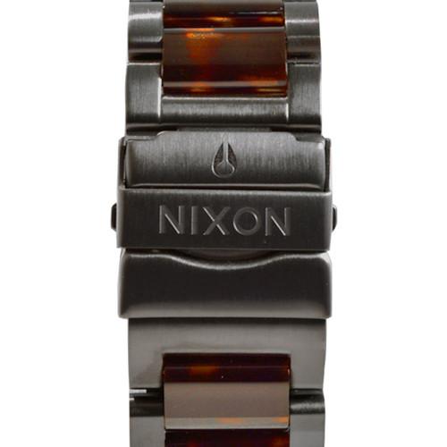 Nixon 51-30 Chrono Matte Black Dark Tortoise