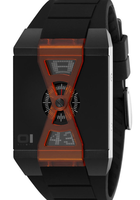 01 the One Anadigi Black/Orange