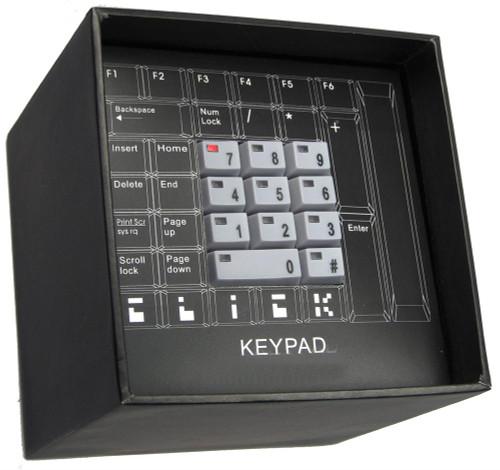 Click Grey Keypad Hidden Time