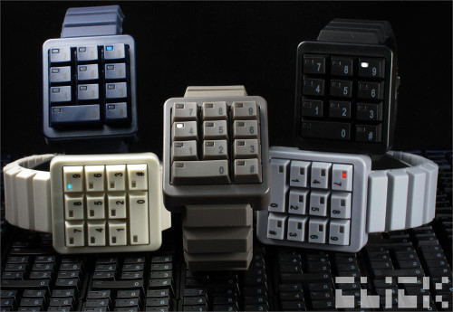 Click Grey Keypad Hidden Time