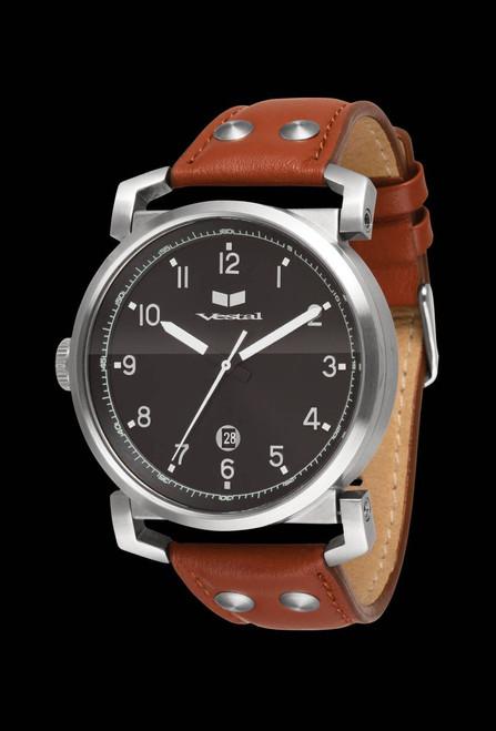 Vestal OB3L003 Observer Brown Leather
