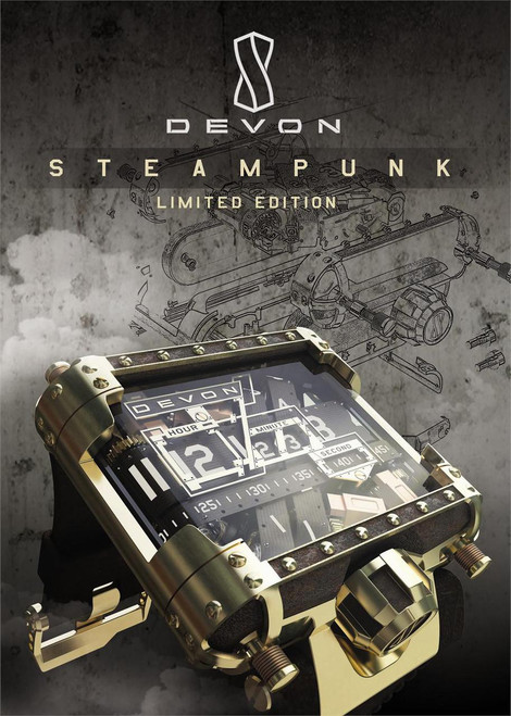 Devon Steampunk Limited Edition Watch