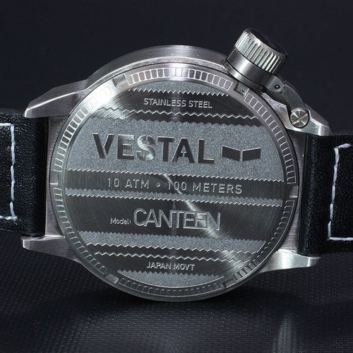 Vestal Canteen CTN3L01 Stainless Steel