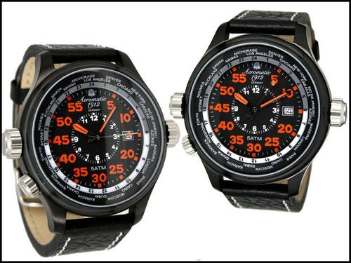 Aeromatic 323A GMT Worldtime