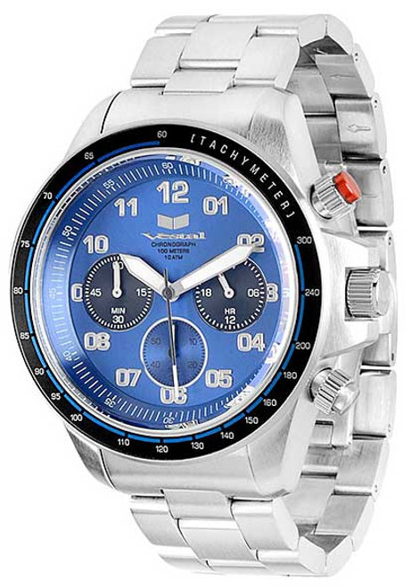 Vestal ZR2011 ZR2 Chronograph Steel Blue