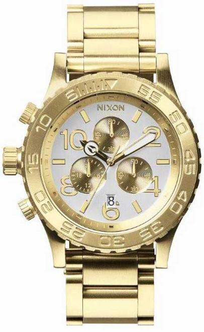Nixon 42-20 Chrono Gold