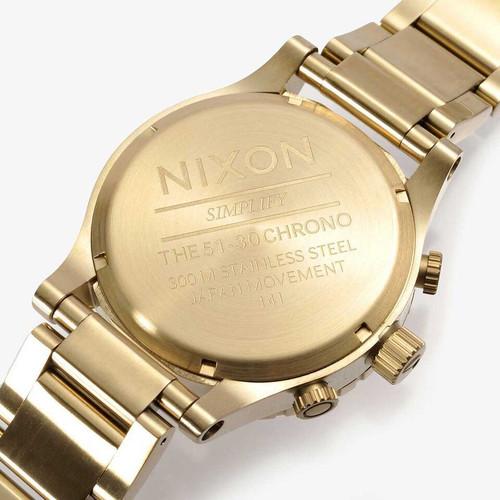 Nixon 51-30 Chrono Gold