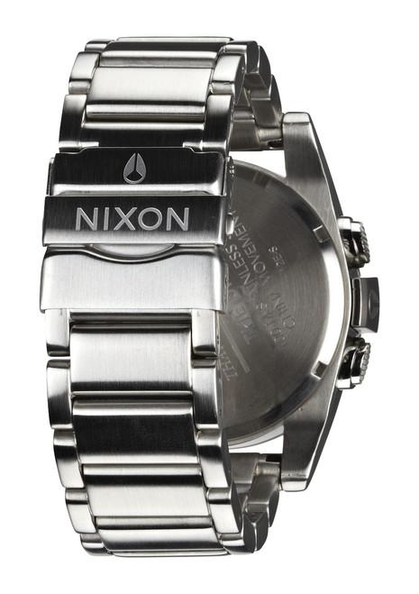 Nixon Unit SS Silver Red