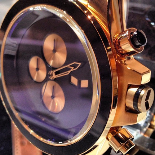 Vestal ZR3 Rose Gold Minimalist Chrono ZR3019