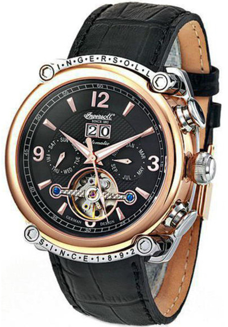 Ingersoll 6907RBKIN Cimarron Automatic Rose Gold/Black
