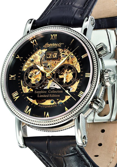 Ingersoll Gold Skeleton Automatic Limited Edition (IN7910BK)