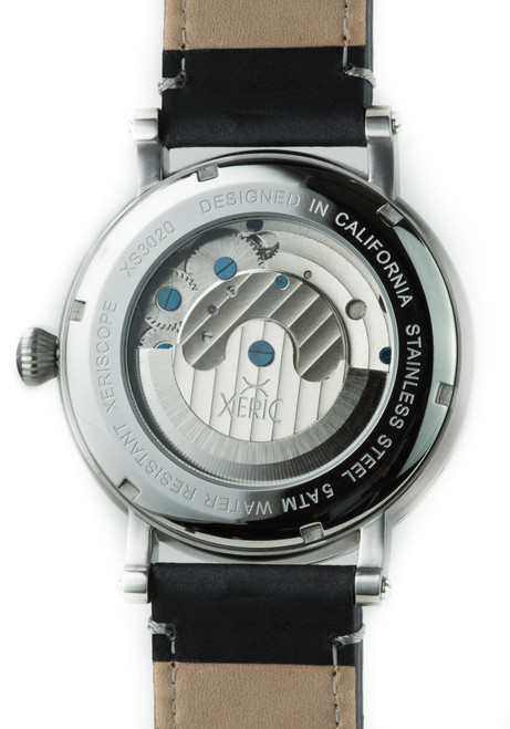 Xeric Xeriscope Automatic Silver/Black (XS3020)