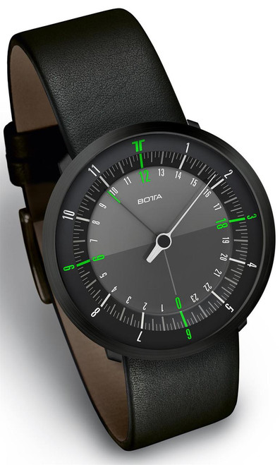 Botta Duo 24 Green Black Edition Leather