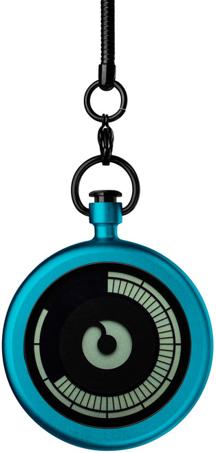 Ziiiro Titan Azure Pocket Watch