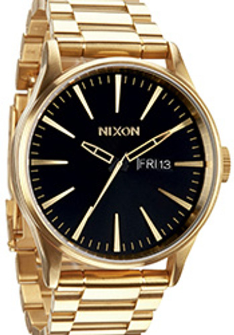 Nixon Sentry SS All Gold Black
