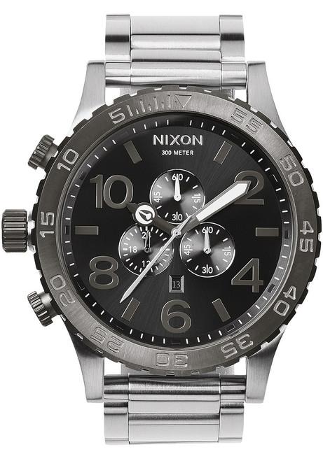 Nixon 51-30 Chrono Silver/Gunmetal