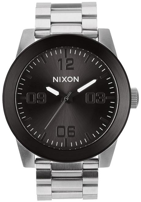 Nixon Corporal SS Silver/Gunmetal