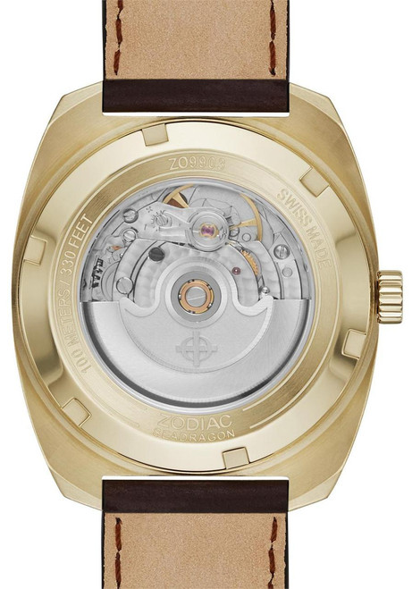 Zodiac ZO9903 Sea Dragon Automatic -Gold