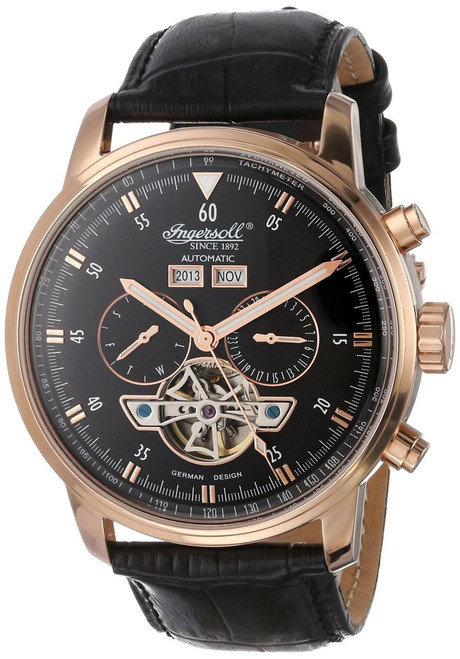 Ingersoll IN4511RBK Okies Automatic Rose Gold