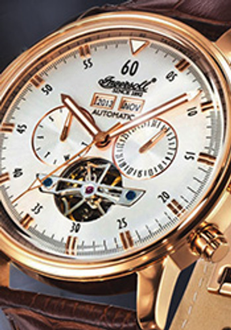 Ingersoll IN4511RSL Okies Automatic Rose Gold/Silver