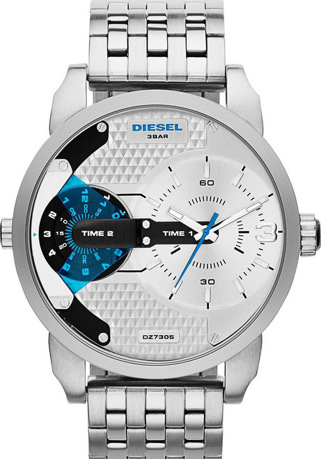 Diesel DZ7305 Mr. Daddy Silver/Blue