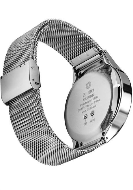 Ziiiro Saturn Polished Silver