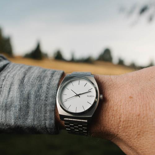 Nixon Time Teller SS White (A045100)