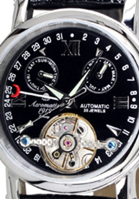 Aeromatic Classic Calendar Automatic - Black