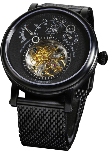 Xeric xeriscope all black mesh automatic for Watches xeric
