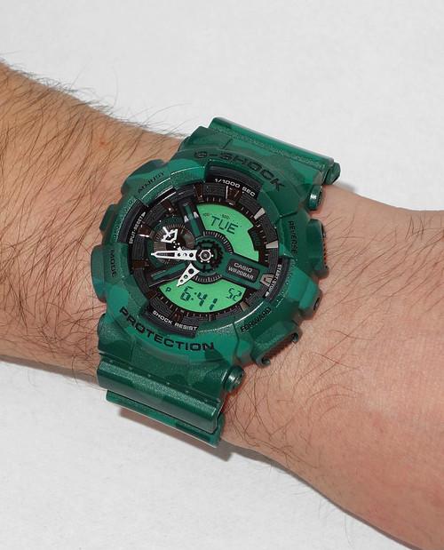 G-Shock XL Worldtime Dark Green Camo -Limited Edition