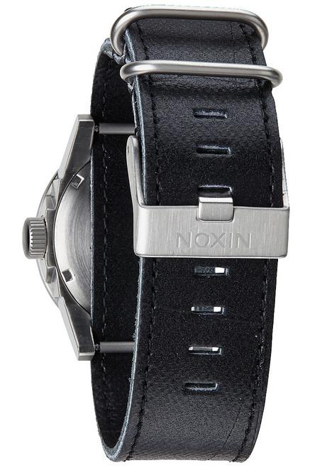 Nixon Private Leather Black