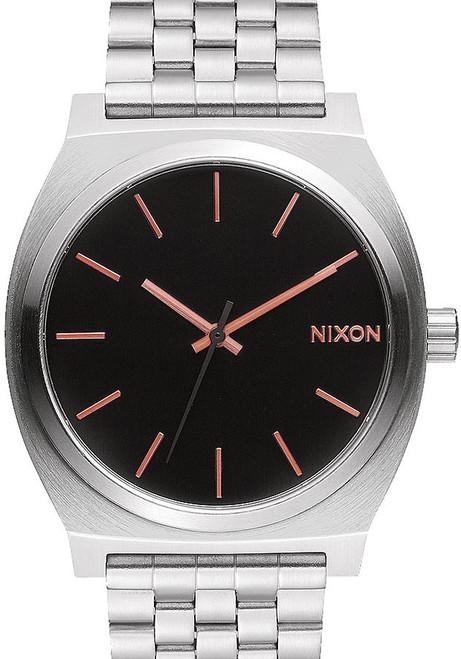 Nixon Time Teller SS Gray Rose Gold