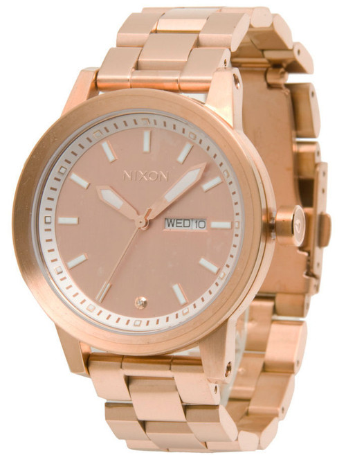 Nixon Spur All Rose Gold | Watches.com