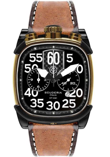 CT Scuderia Scrambler Chronograph Bronze