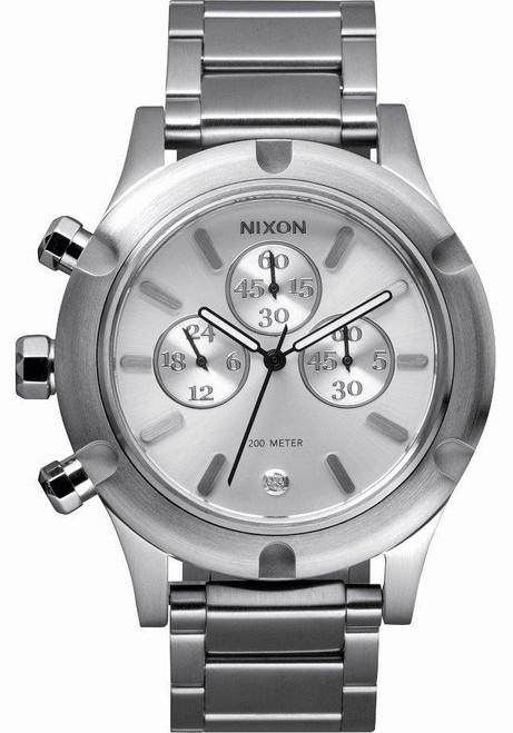 Nixon Camden Chrono Silver
