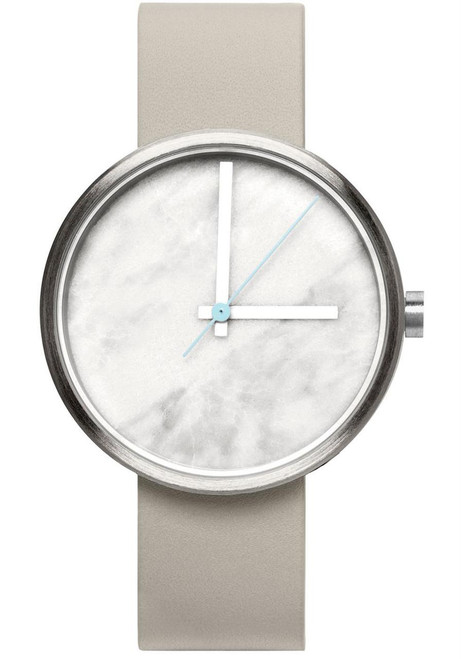 AARK Collective Marble Carrara White Italian Leather