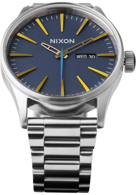 Nixon Sentry SS Navy/Brass/Steel (A3562076)